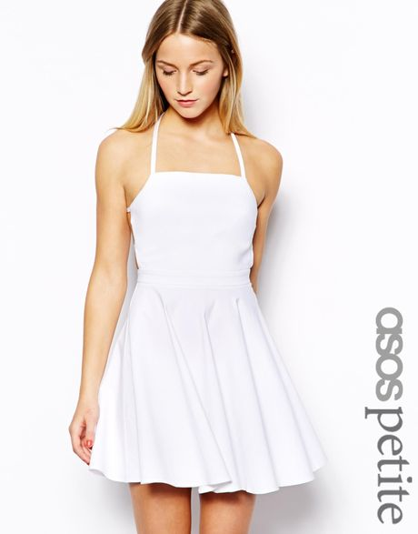 Buy White Skater Dress with Gold Sequin Bodice&Criss Cross Back for only $ Browse the UsTrendy catalog for the latest trends in indie fashion!