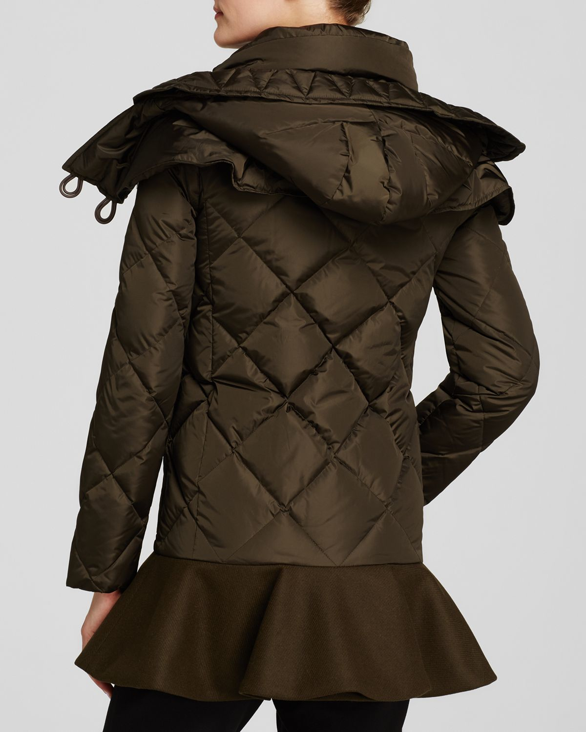 moncler vauloge skirted down coat
