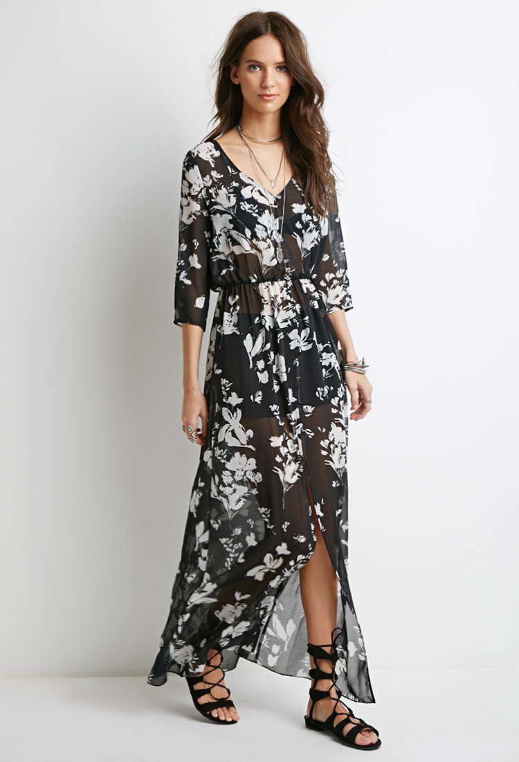 427ae329dc1a6 Floral Maxi Dress Forever 21