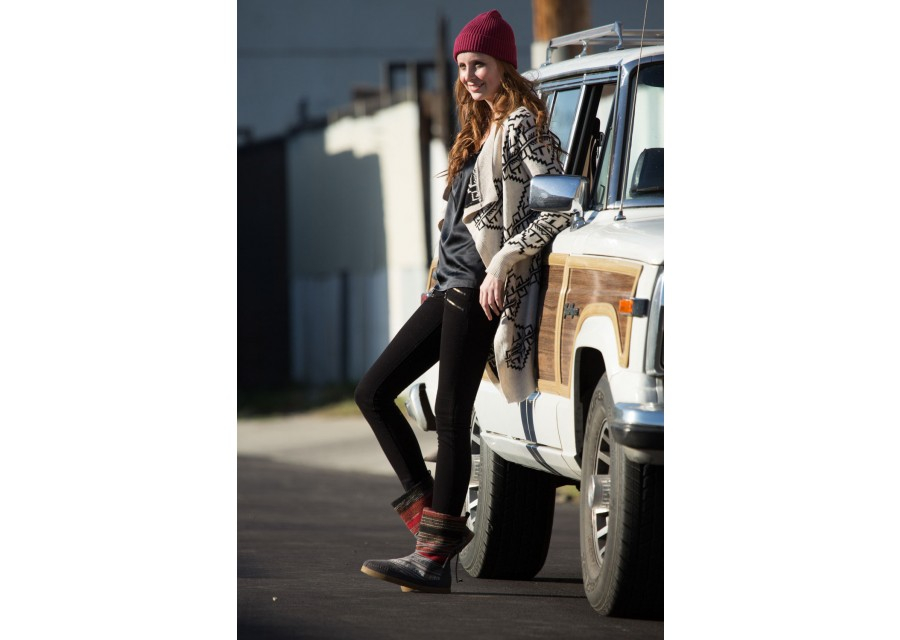 91b272582 TOMS Woven Womens Nepal Boots - Lyst