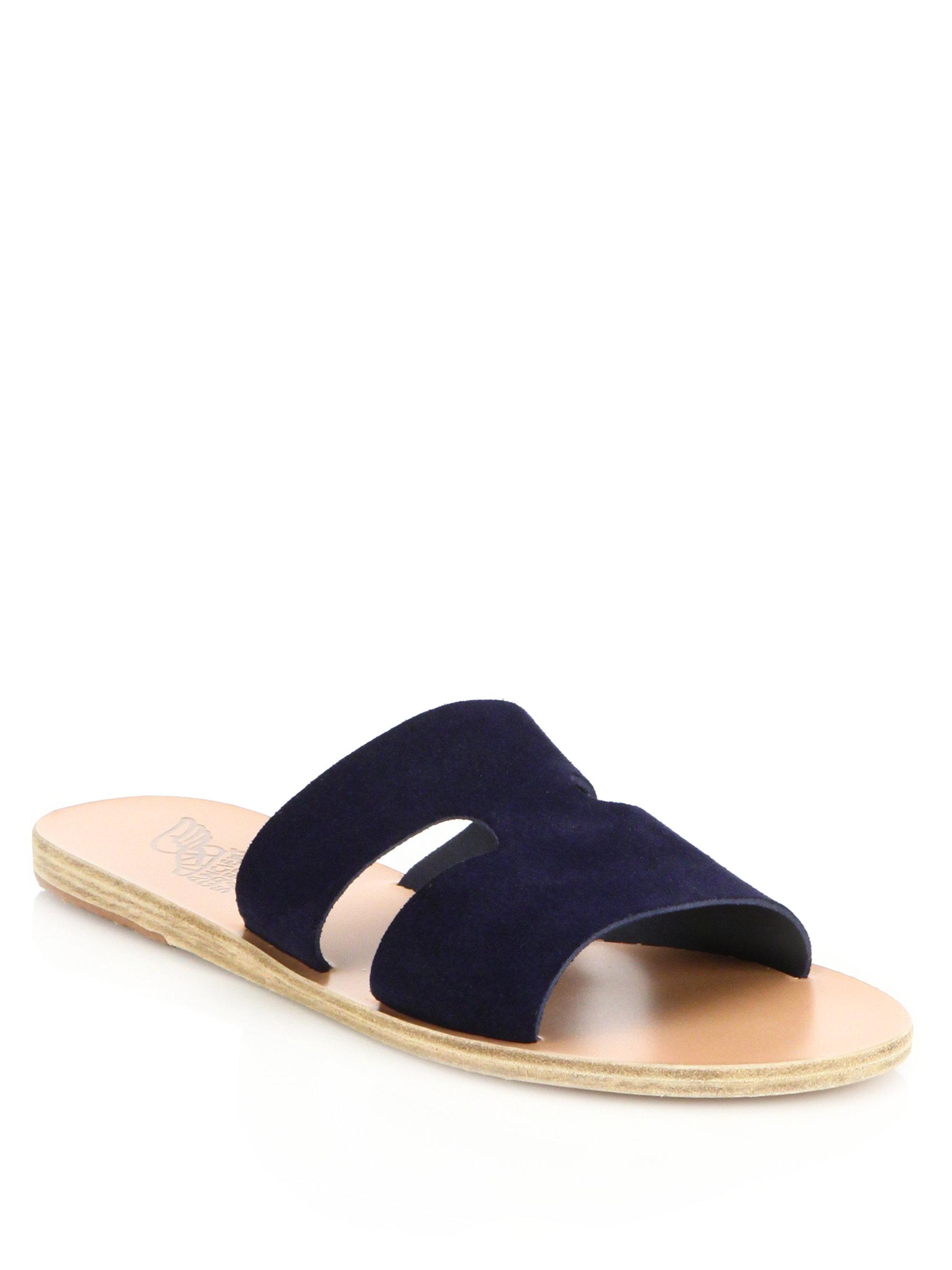Sandales Anciennes Sandales Grecques - Bleu ZqpYK