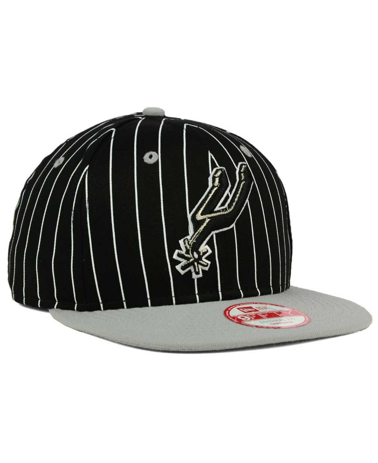 newest collection e38ba 2a1a7 Lyst - KTZ San Antonio Spurs Vintage Pinstripe 9fifty Snapback Cap ...