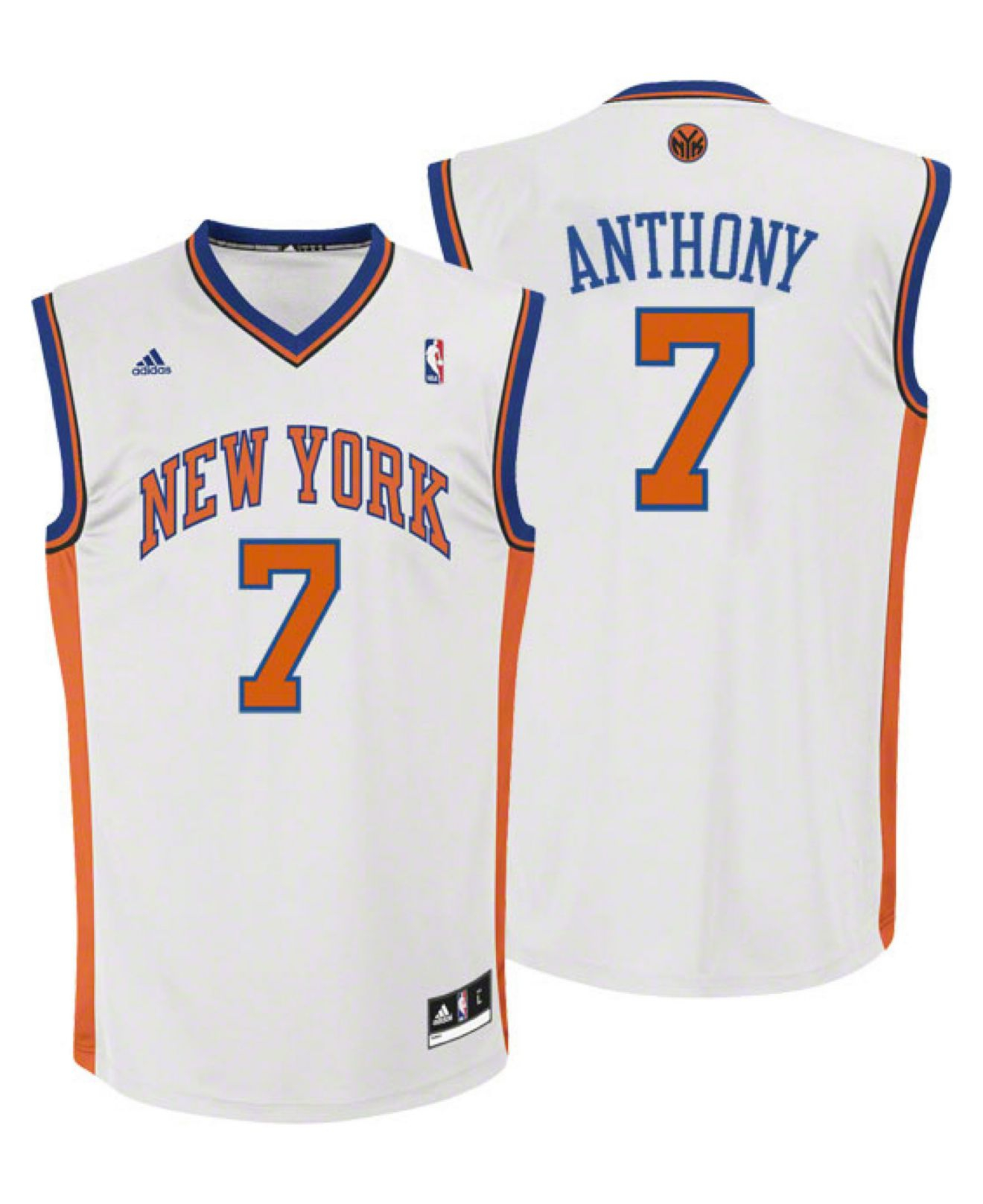 bed4ae6f4 Lyst - adidas Kids  Carmelo Anthony New York Knicks Revolution 30 ...