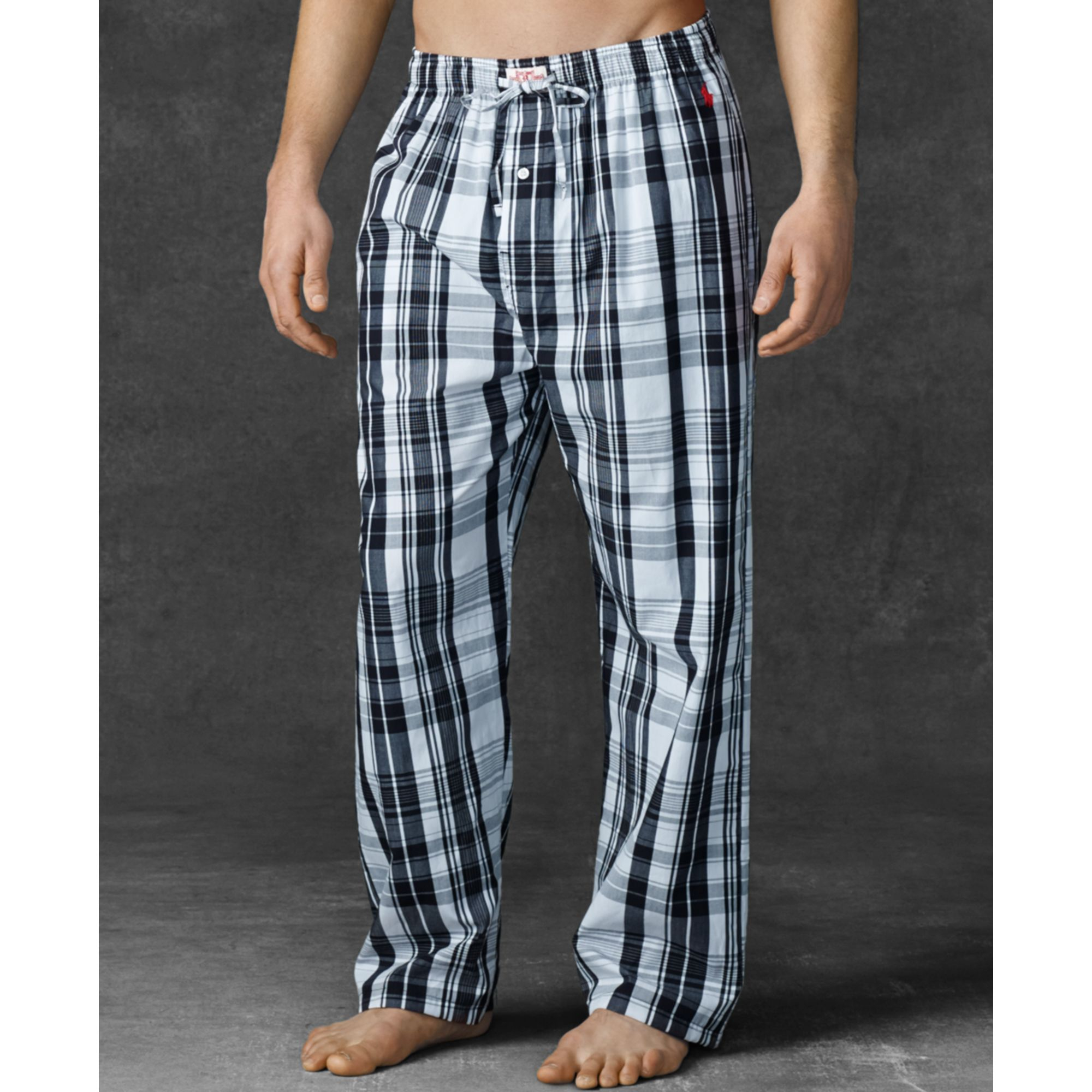 The soft comfort of flannel pajama pants envelops you in cozy warmth. You can pair this pajama essential with a plain V-neck pajama shirt or a matching button-up flannel pajama shirt. Pajama sets are also available in lightweight materials like cotton that are perfectly suited to the temperature of .