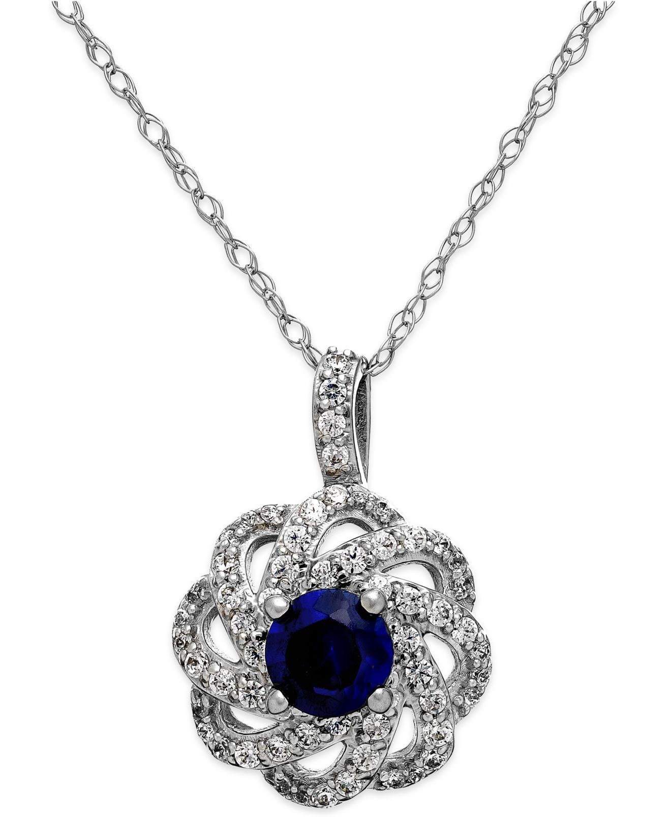 macys jewelry sale macy s sapphire 5 8 ct t w and 1 3 ct t w 1048