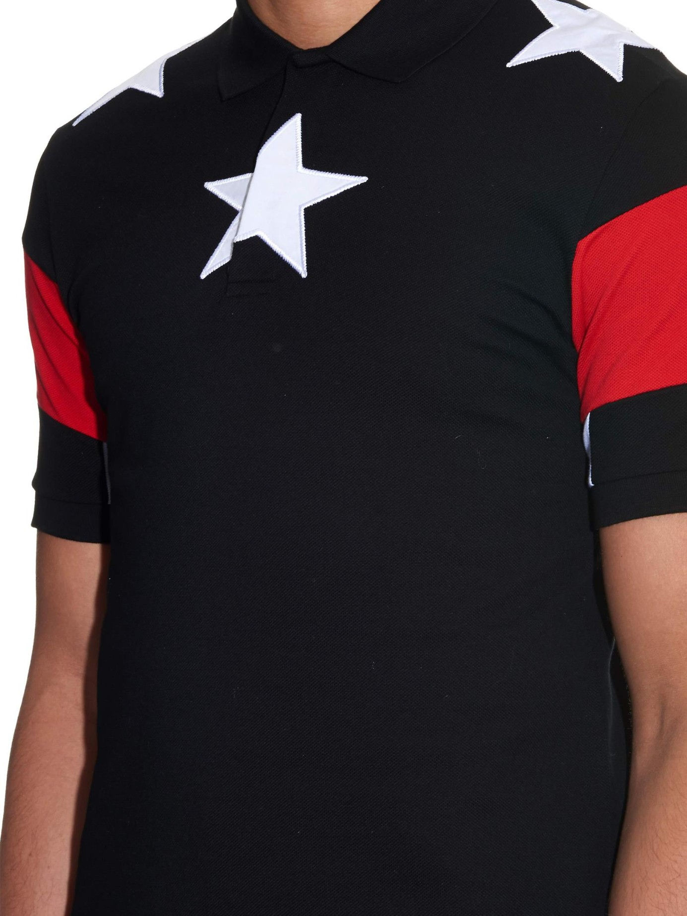 Lyst Givenchy Cuban Fit Stars And Stripes Polo Shirt In