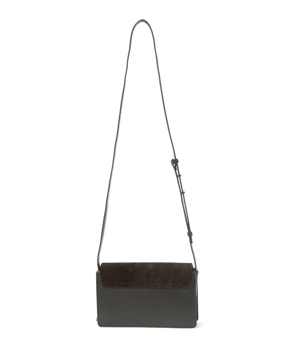 chloe black and white bag
