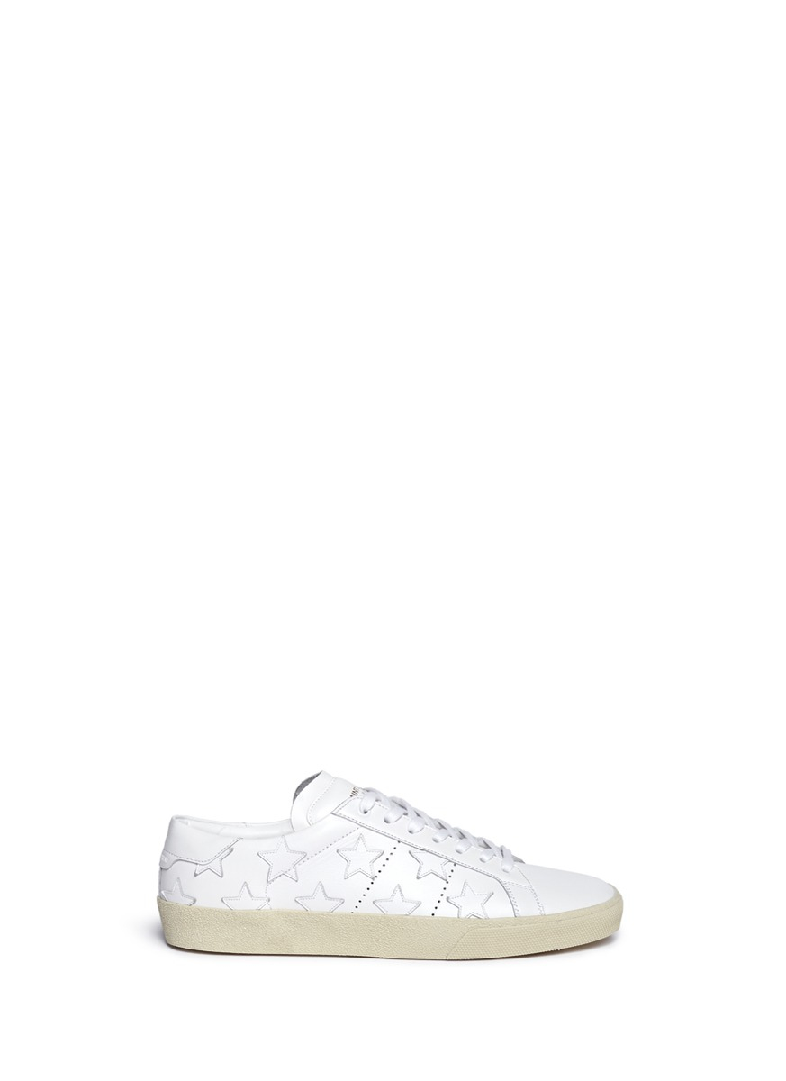 Saint LaurentCalifornia Star Sneakers HXaokCIgvK