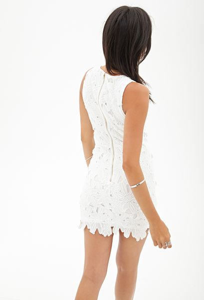 10f0dba0660 Floral Dresses  White Floral Dress Forever 21