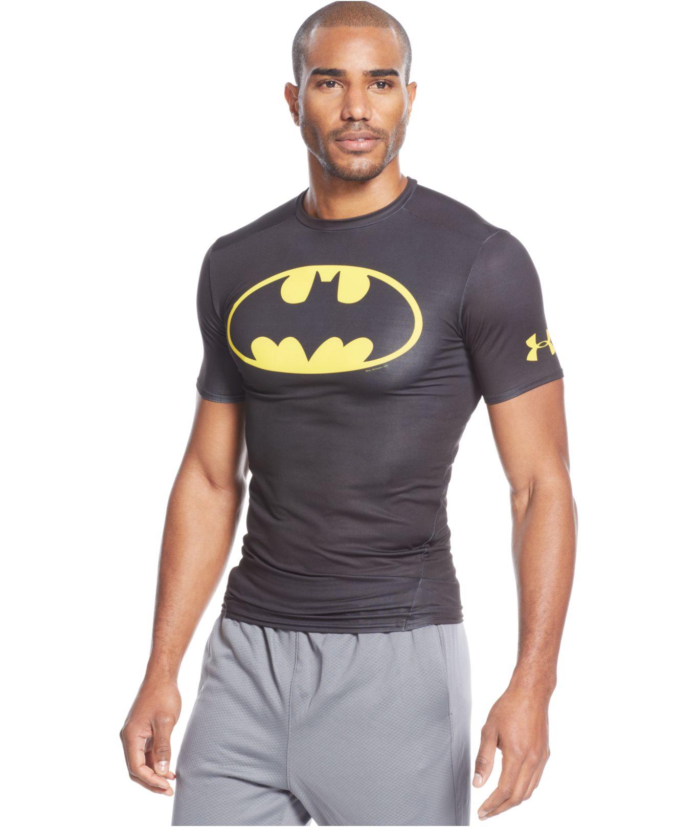 wyprzedaż w sprzedaży sprzedaż online najlepsza obsługa Under Armour Gray Alter Ego Batman Compression T-Shirt for men