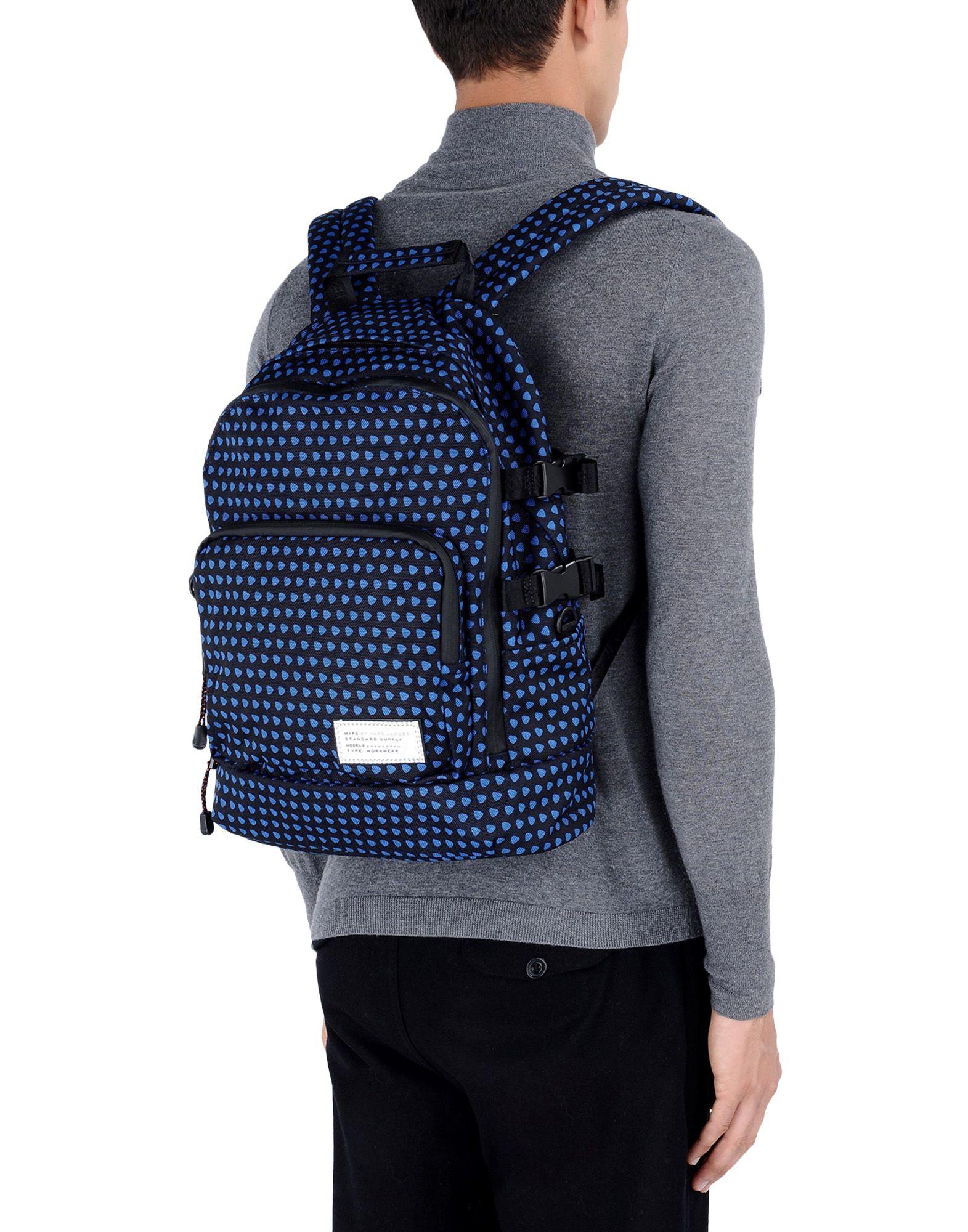 marc by marc jacobs rucksack in black for men lyst. Black Bedroom Furniture Sets. Home Design Ideas