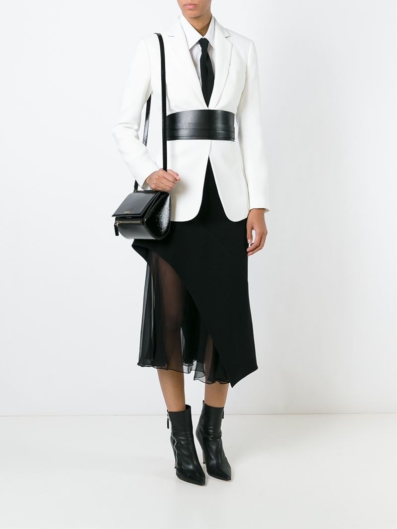 76ada844e2 Lyst - Givenchy Mini  pandora Box  Crossbody Bag in Black
