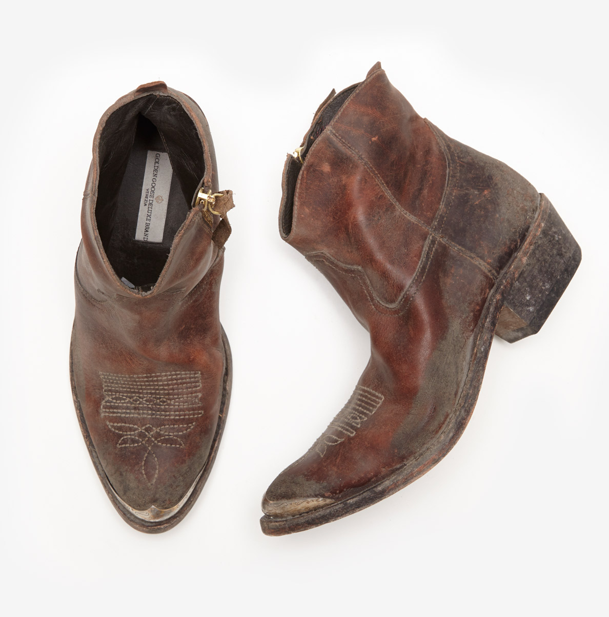 Golden goose deluxe brand Young Boots in Brown | Lyst