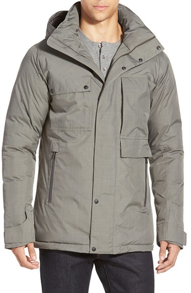 Nau &39blazing&39 Waterproof Down &amp Feather Jacket With Removable Hood