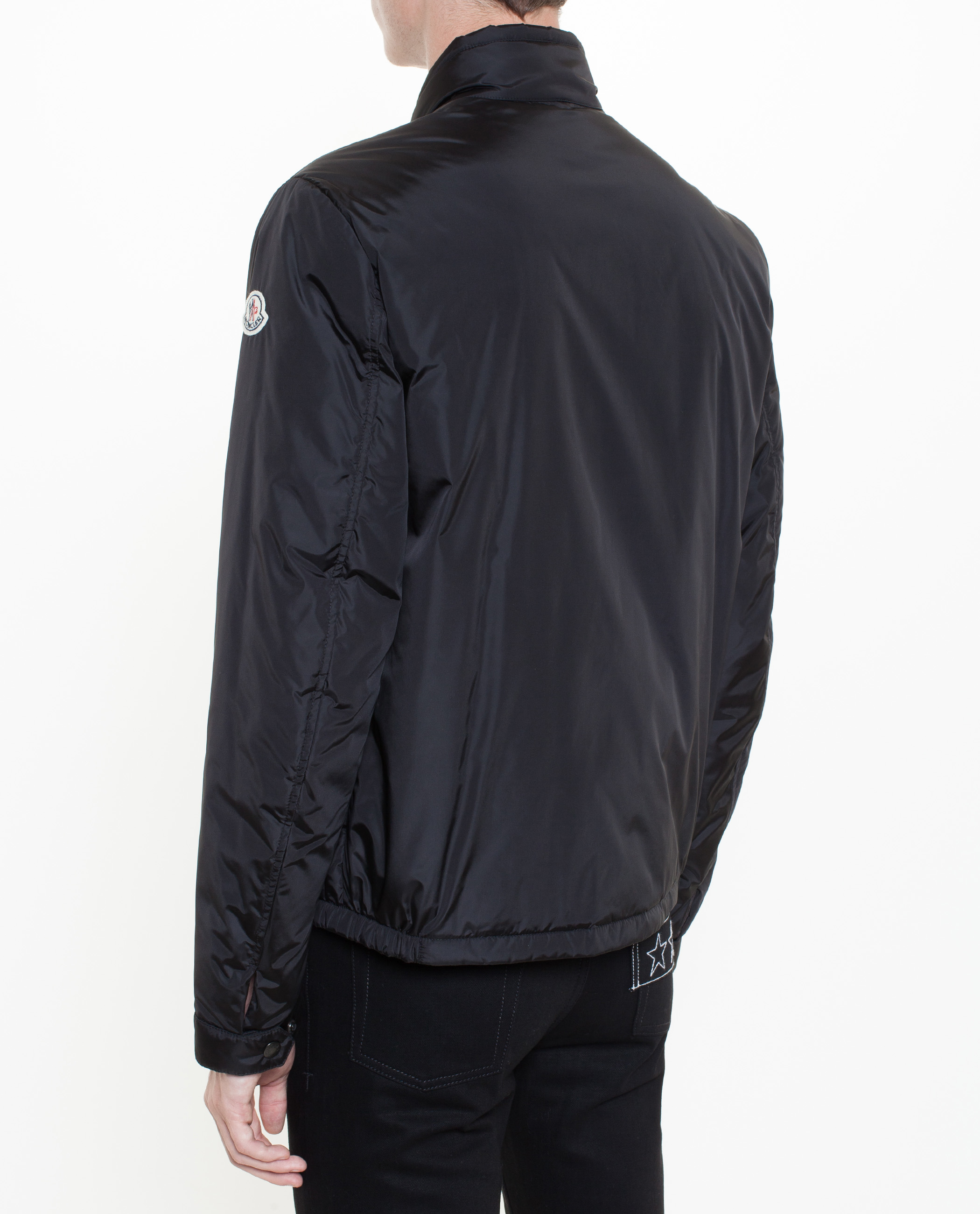 moncler berard jacket in black for men lyst. Black Bedroom Furniture Sets. Home Design Ideas