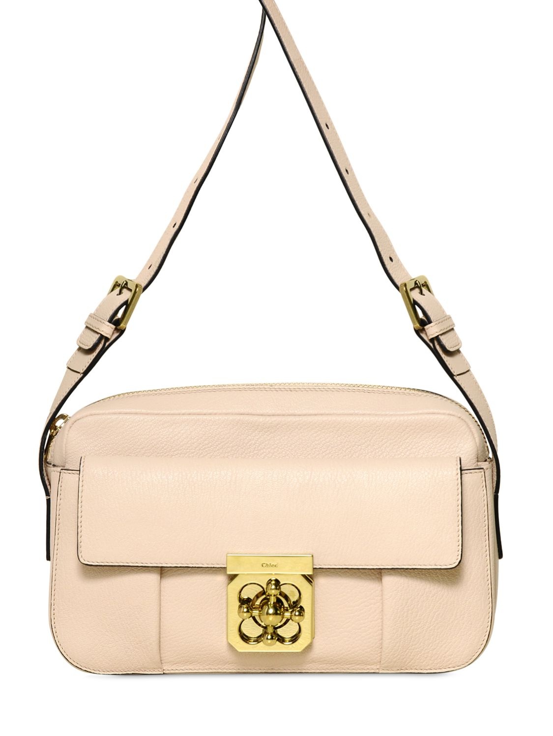 chloe red bag - chloe beige leather handbag elsie