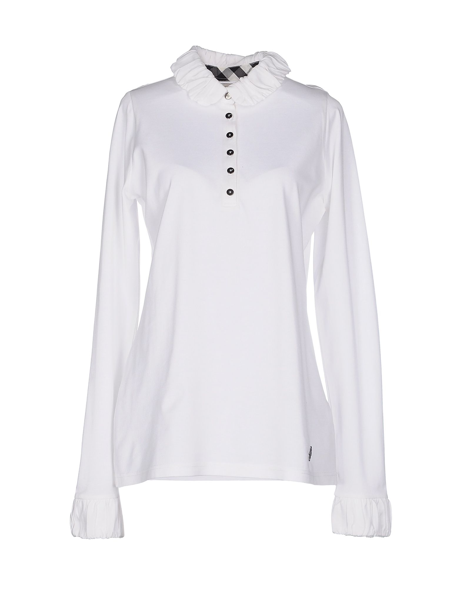 ff27d3245 Lyst Burberry Brit Polo Shirt In White | The Art of Mike Mignola