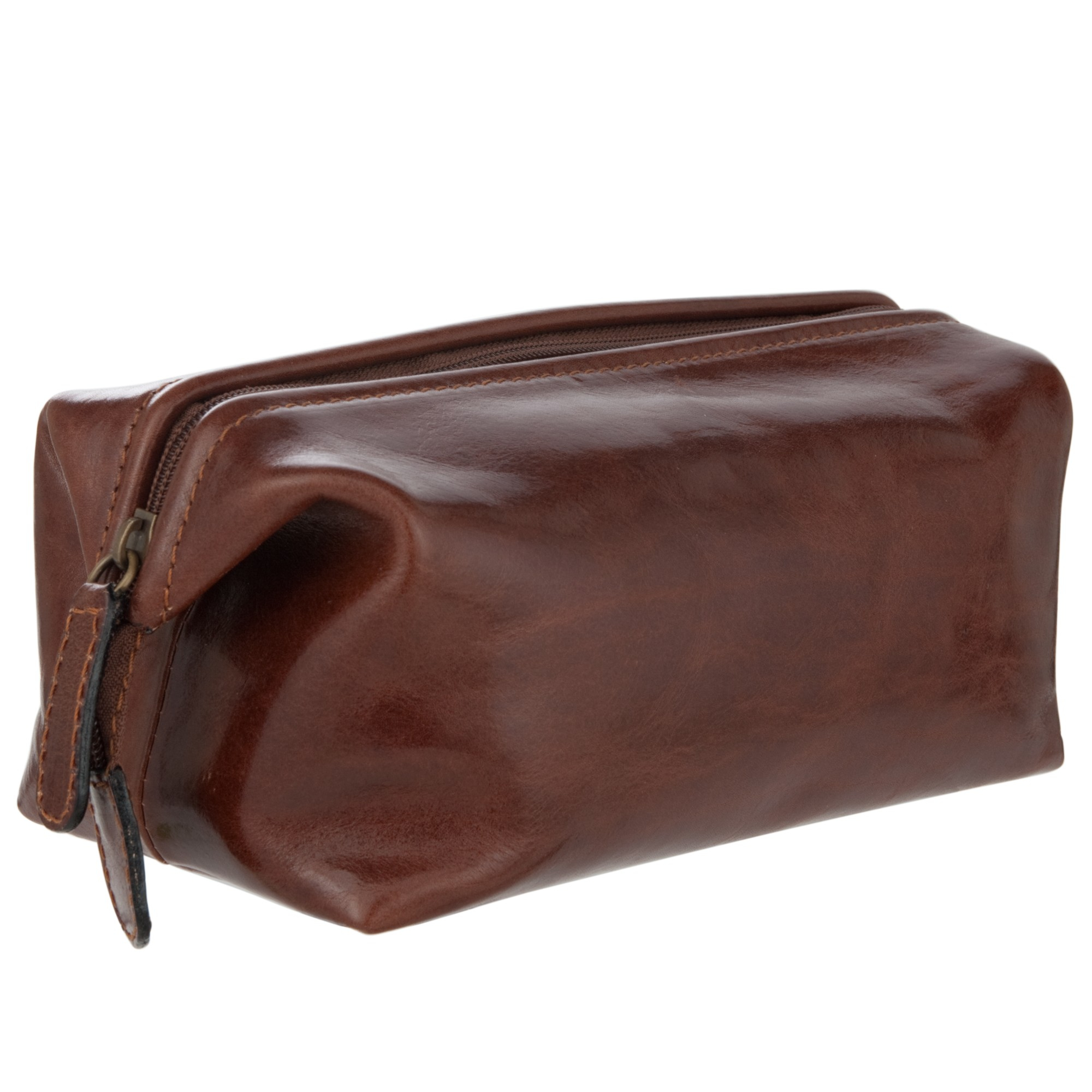 028f65fc743a0 John Lewis Made In Italy Leather Wash Bag in Brown for Men - Lyst