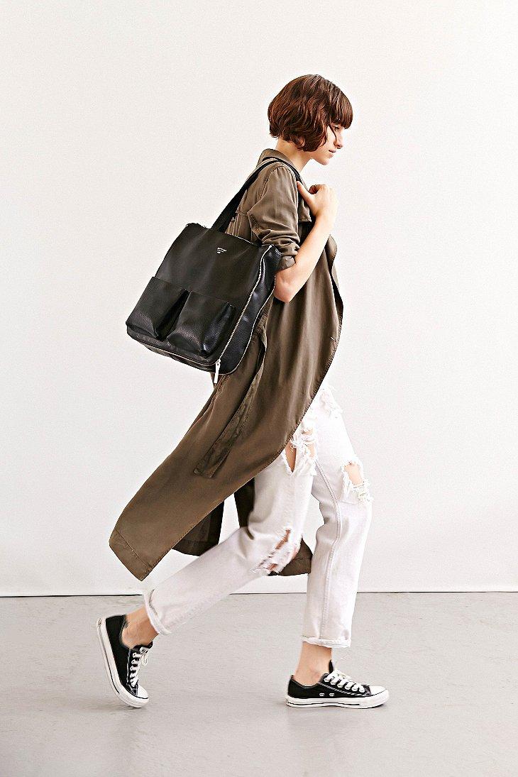lyst matt nat apea tote bag in black. Black Bedroom Furniture Sets. Home Design Ideas