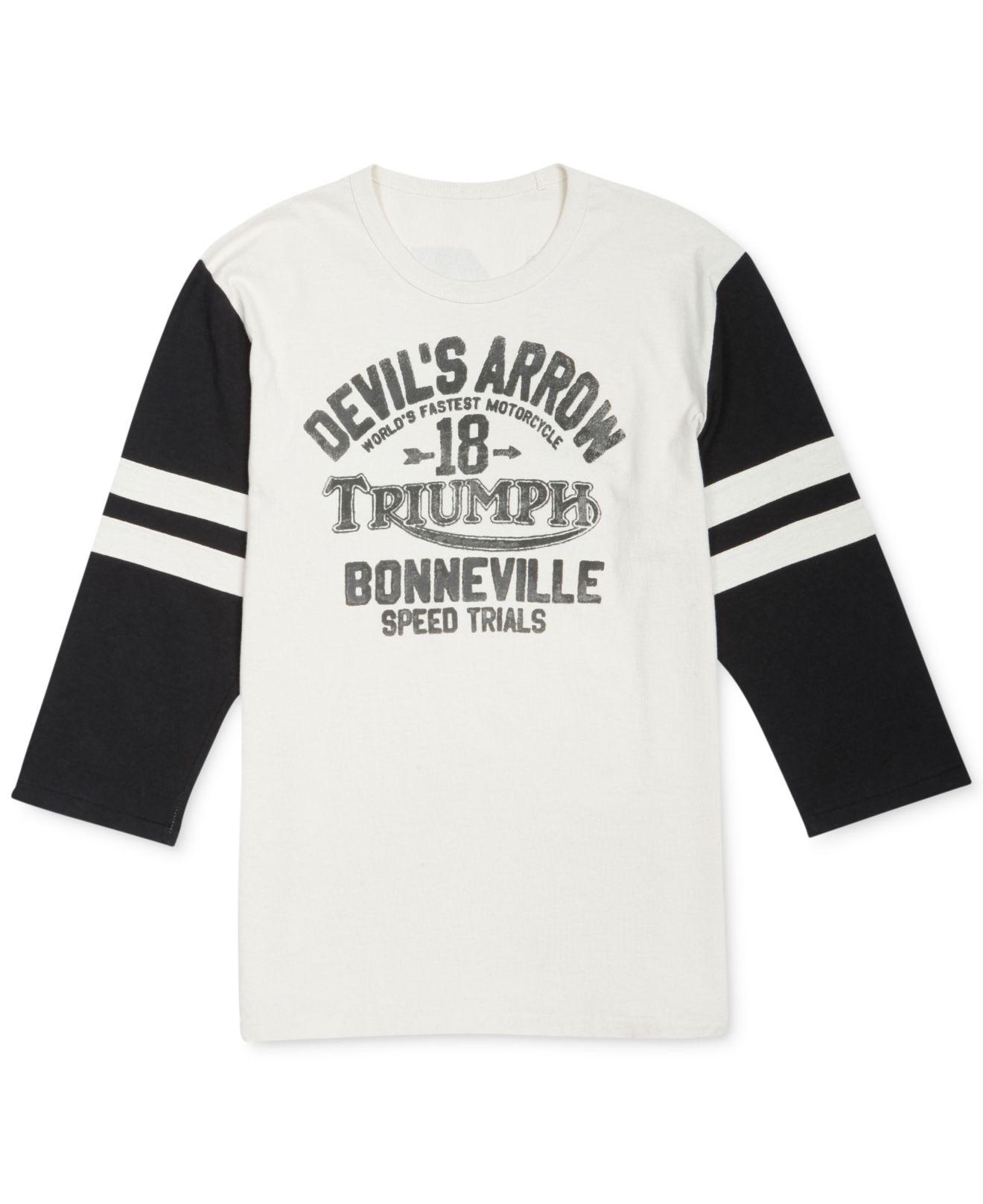 511b648ca Lucky Brand Devil'S Arrow Triumph T-Shirt in Black for Men - Lyst