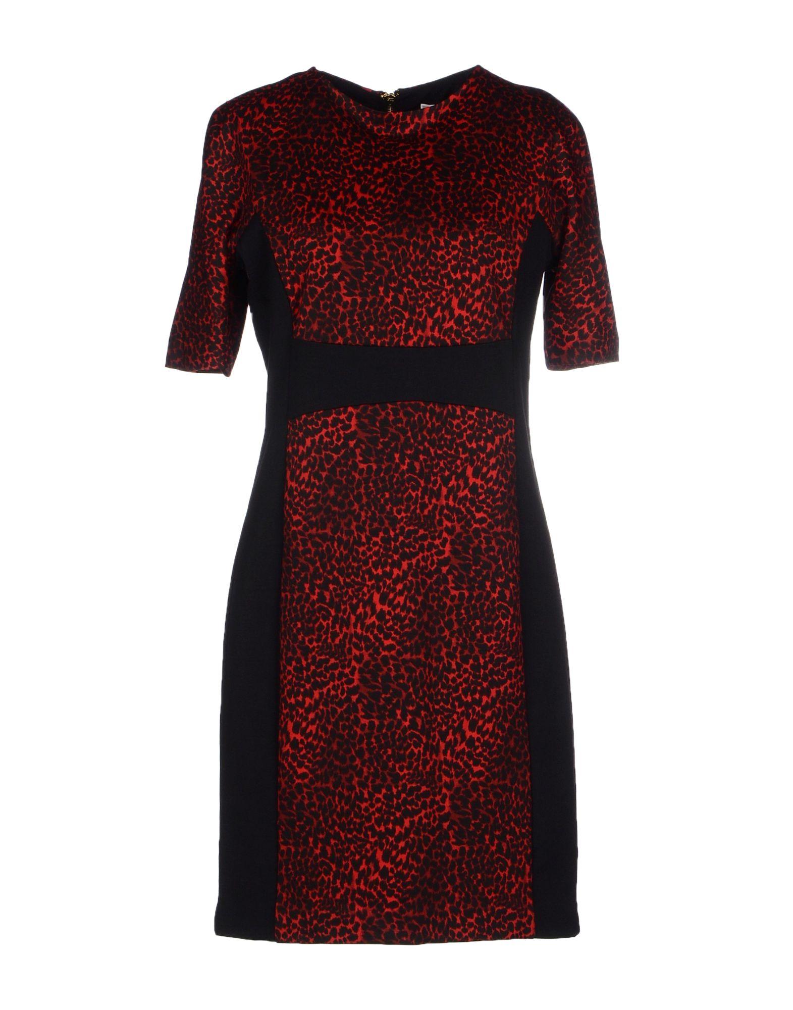 Model Lyst - Michael Michael Kors Printed Layered Maxi Dress In Blue