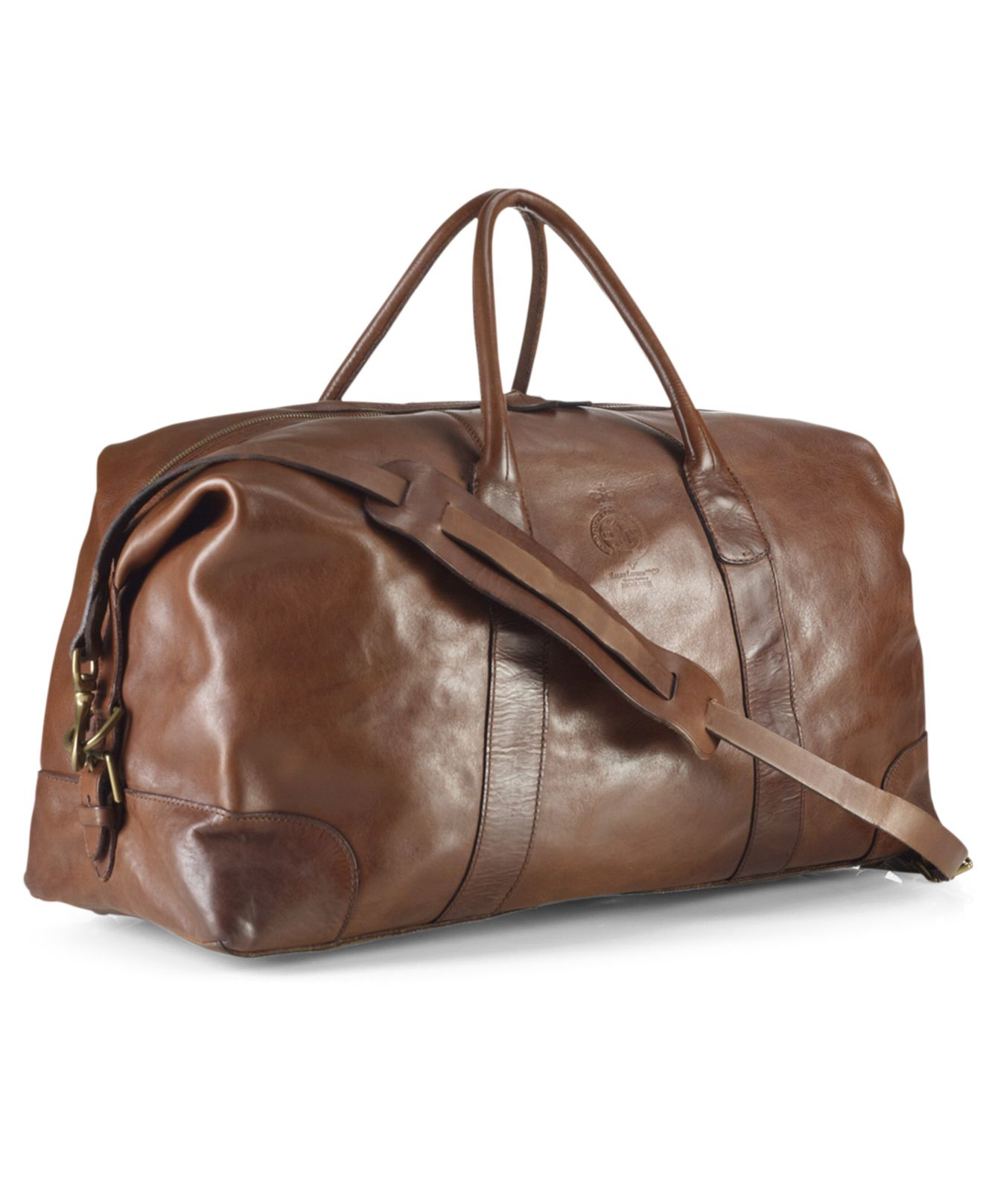 a12f87c6d7 Lyst - Polo Ralph Lauren Core Leather Duffle Bag in Brown for Men
