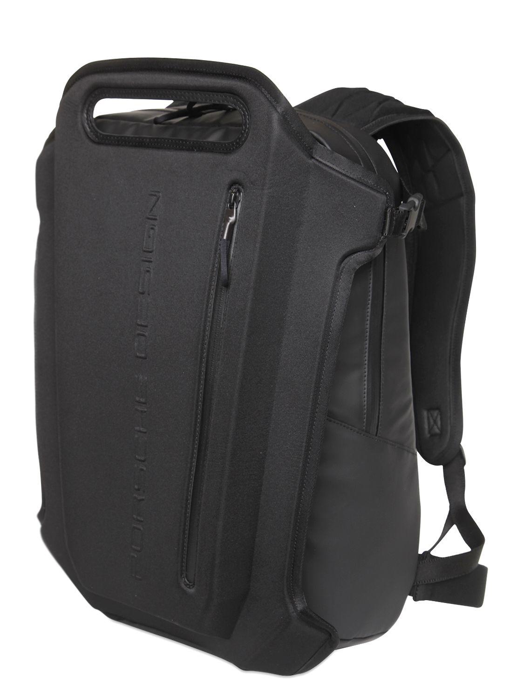Porsche Design Element Waterproof Ski Backpack In Black