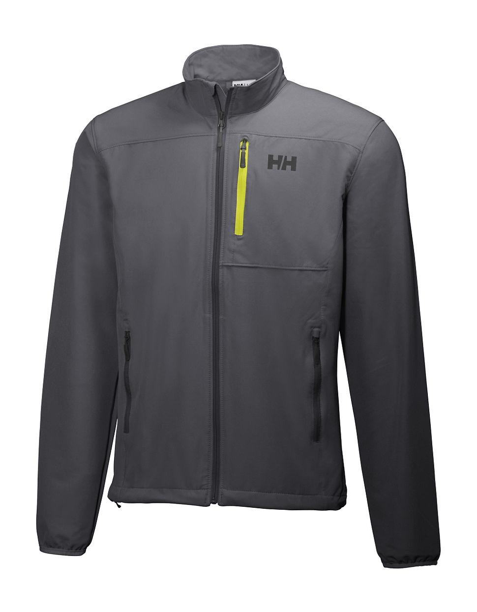 helly hansen paramount speedlight softshell jacket in black for men lyst. Black Bedroom Furniture Sets. Home Design Ideas