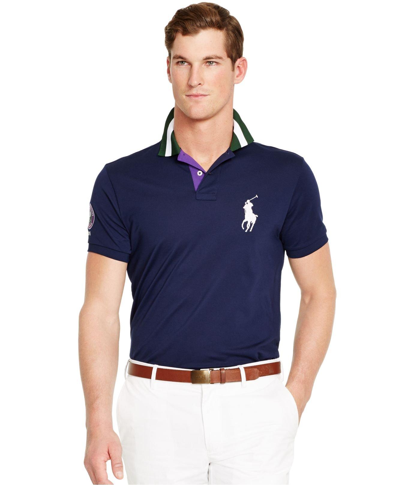 Polo Ralph Lauren Wimbledon Custom Fit Ball Boy Polo Shirt