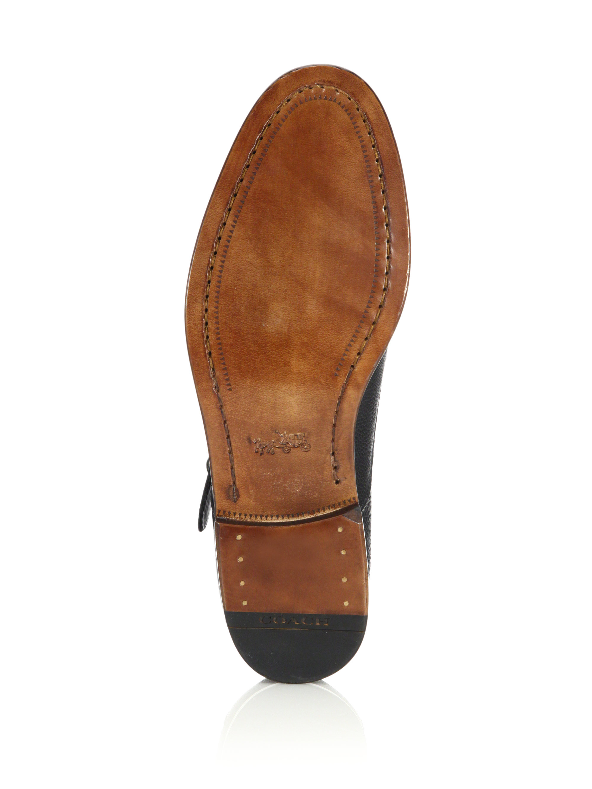 33629483770 ... where to buy lyst coach alexander grain double monk strap shoes in  black for men 54e93 ...