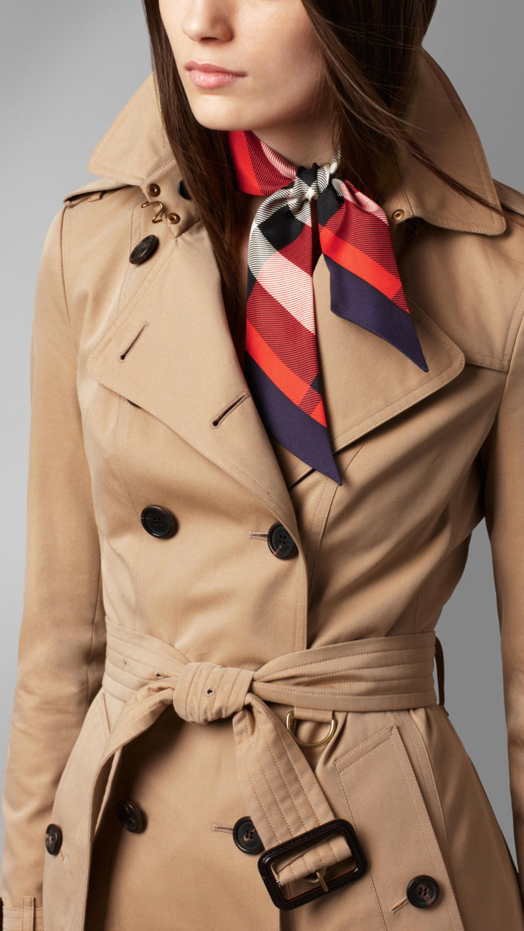 Tag Print slim scarf - Multicolour Burberry D4Nx6Kej