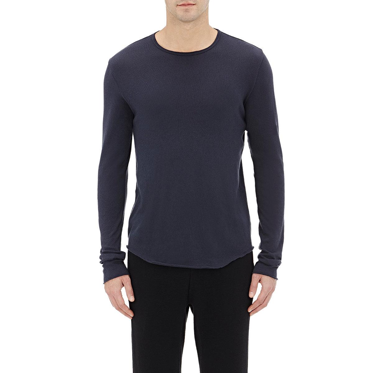 Lyst rag bone men 39 s marsdon long sleeve t shirt in for Rag bone shirt