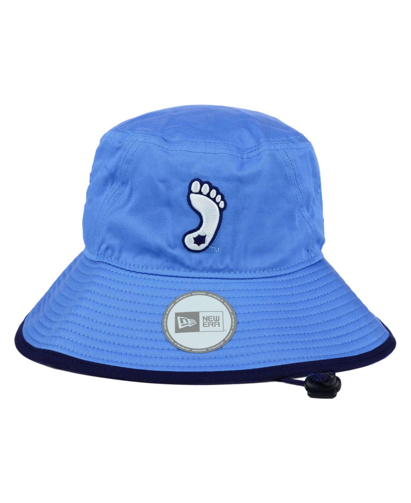 673798ffbb4 ... low cost lyst ktz north carolina tar heels tip bucket hat in blue for  men 17b64 ...