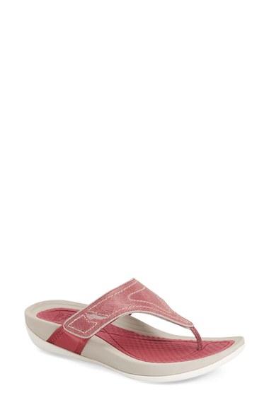 1e3d9e2ed7a Lyst - Dansko  katy 2  Thong Sandal in Pink