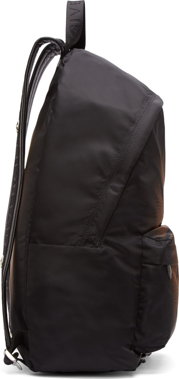 679ac628cd1e Lyst - Givenchy Black Basketball Fade Backpack in Black for Men
