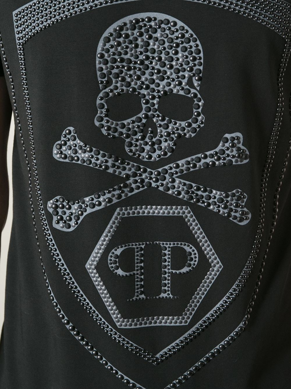 Philipp Plein Skull Tshirt In Black For Men Lyst