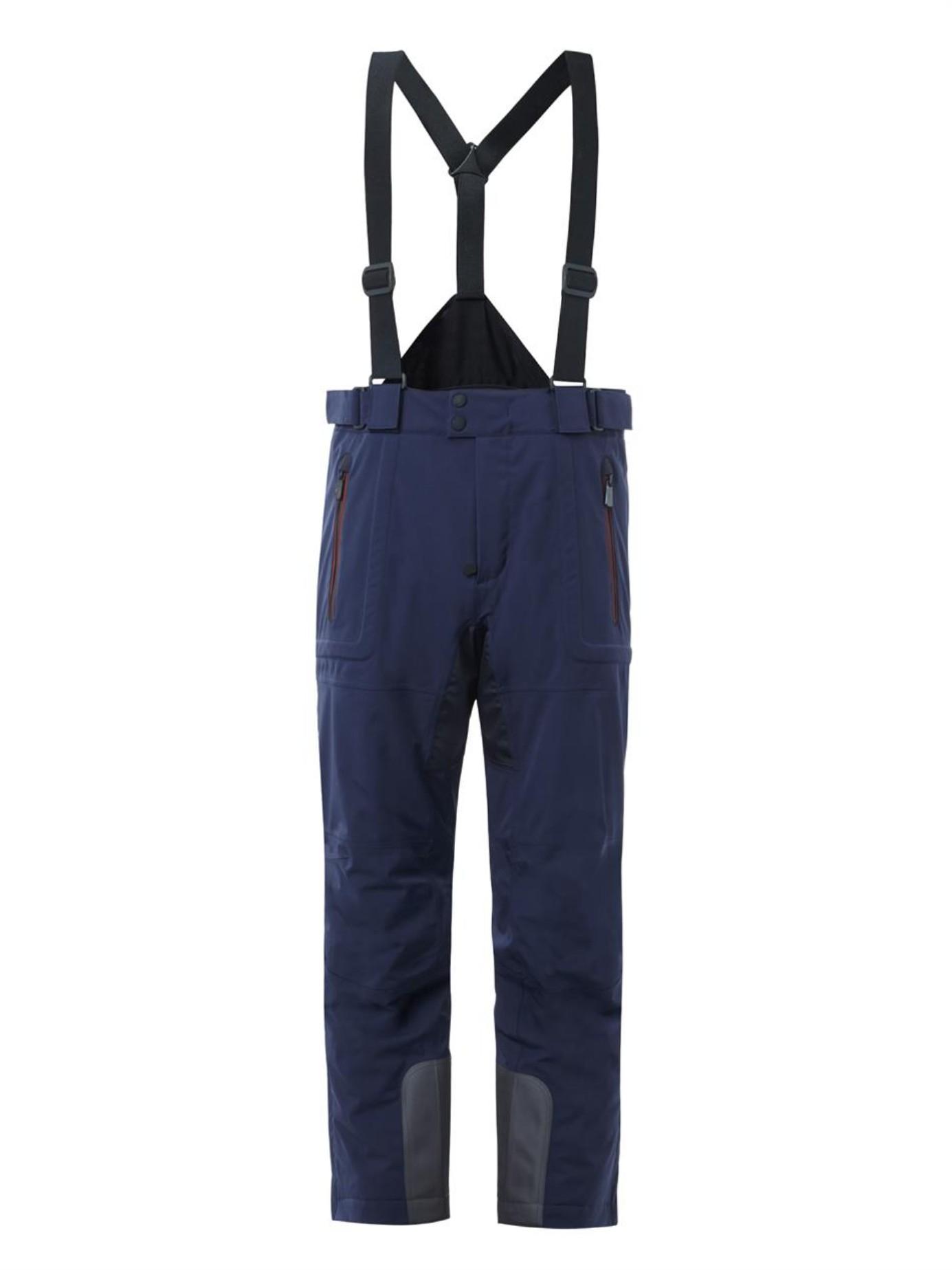 1eb0f4985f Lyst - Moncler Grenoble Recco Salopette Ski Trousers in Blue for Men