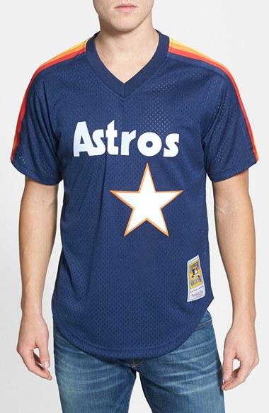 Mitchell Ness Nolan Ryan Houston Astros Authentic Mesh Bp