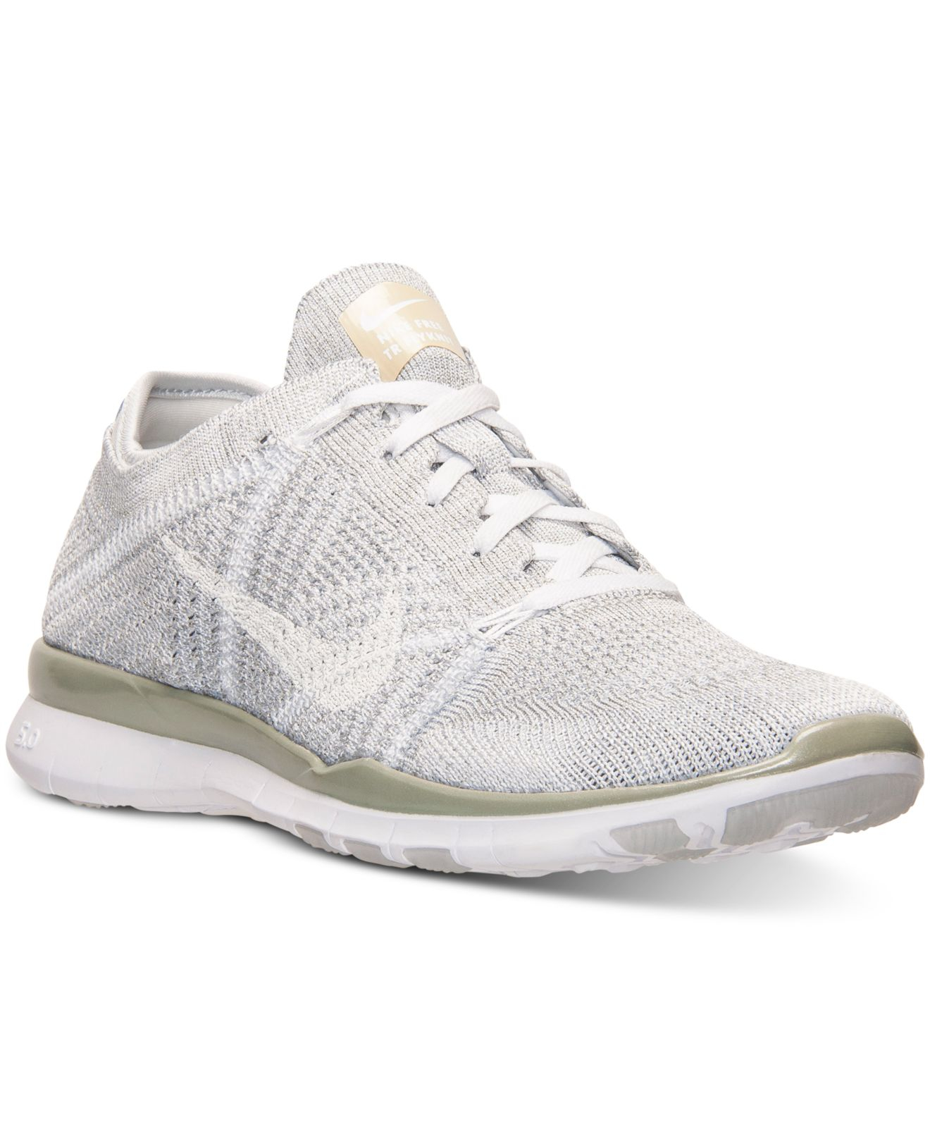 mens nike free tr flyknit 5.0 all gold