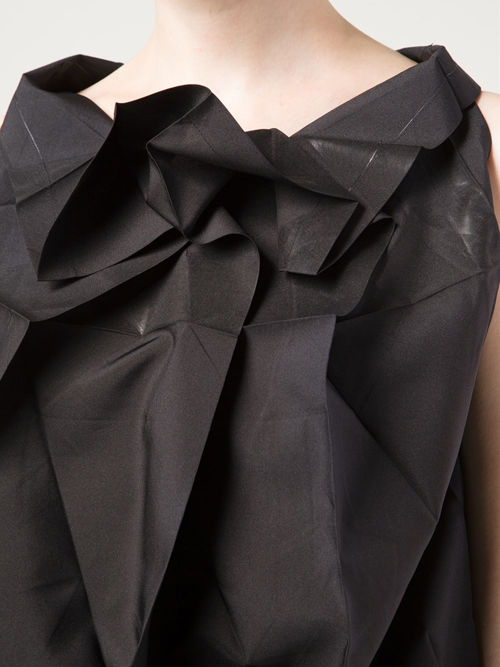 132 Best Images About Golf R On Pinterest: 132 5. Issey Miyake Origami Style Sleeveless Top In