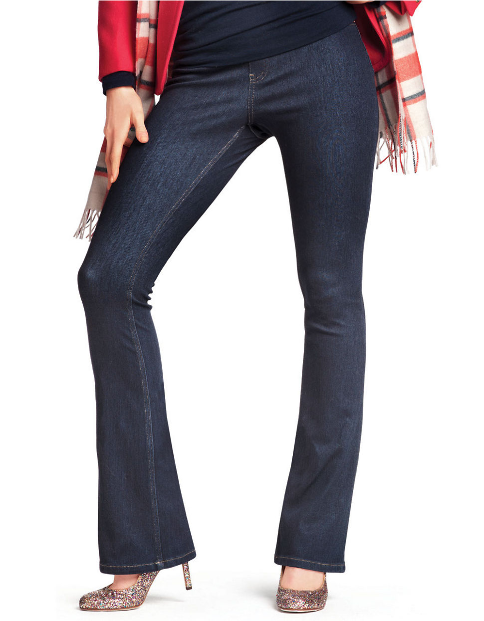 Womens Stretch Jeans Bootcut