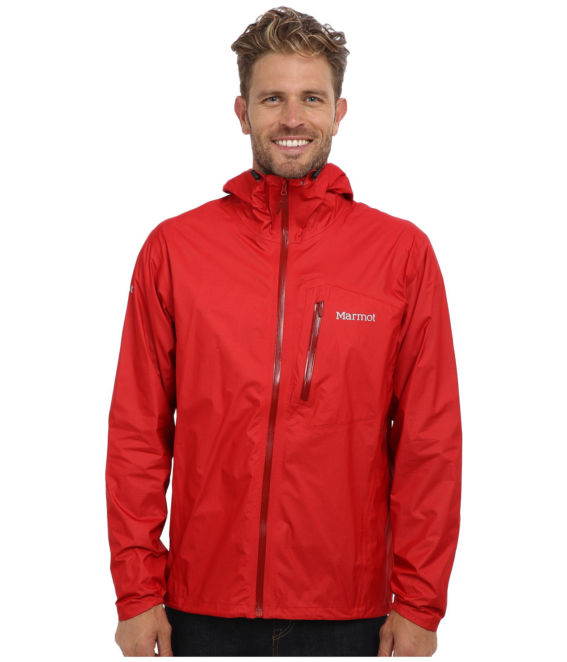 Marmot Essence Jacket In Red For Men Lyst