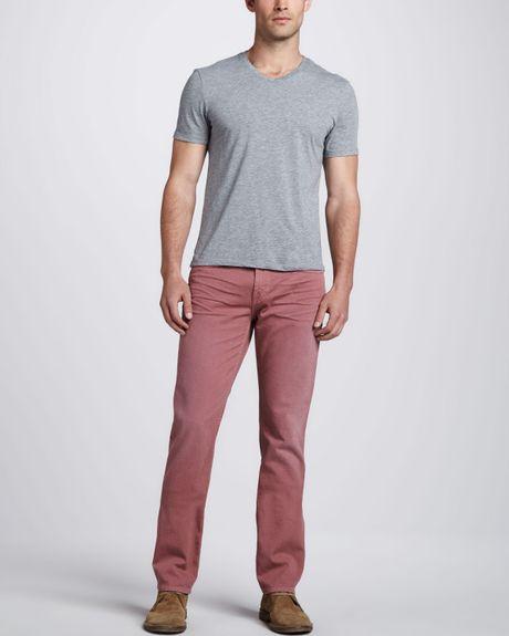 J Brand Kane Slim Faded Jeans Mauve in Purple for Men ... - photo #49