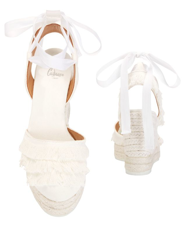 Free Shipping Ebay 2018 Newest Sale Online lace espadrilles - White Castaner rYRl2aPfFb