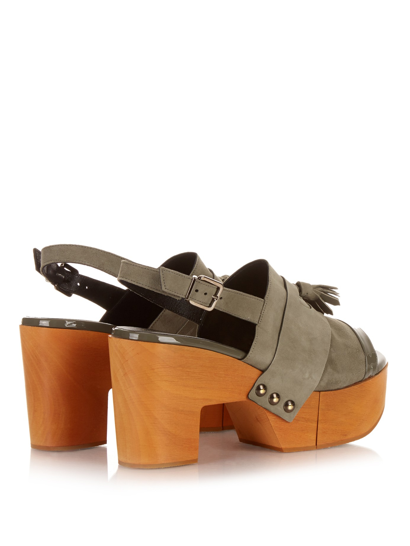 platform sandals - Brown Robert Clergerie EAnipcFd