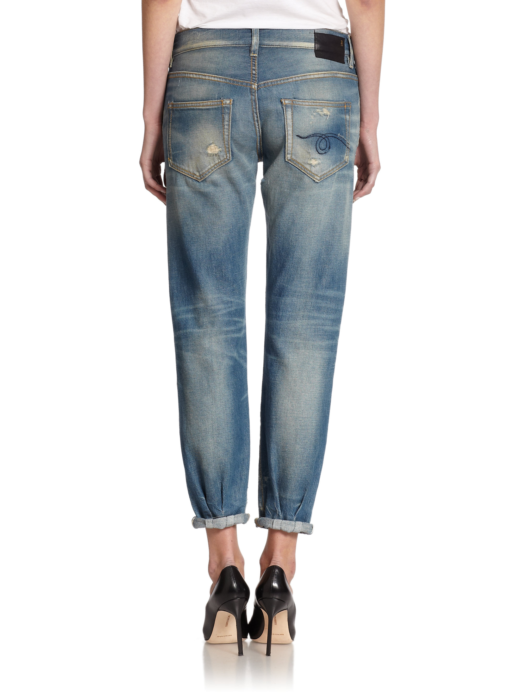 distressed jeans - Blue R13 Recommend QhTvqe