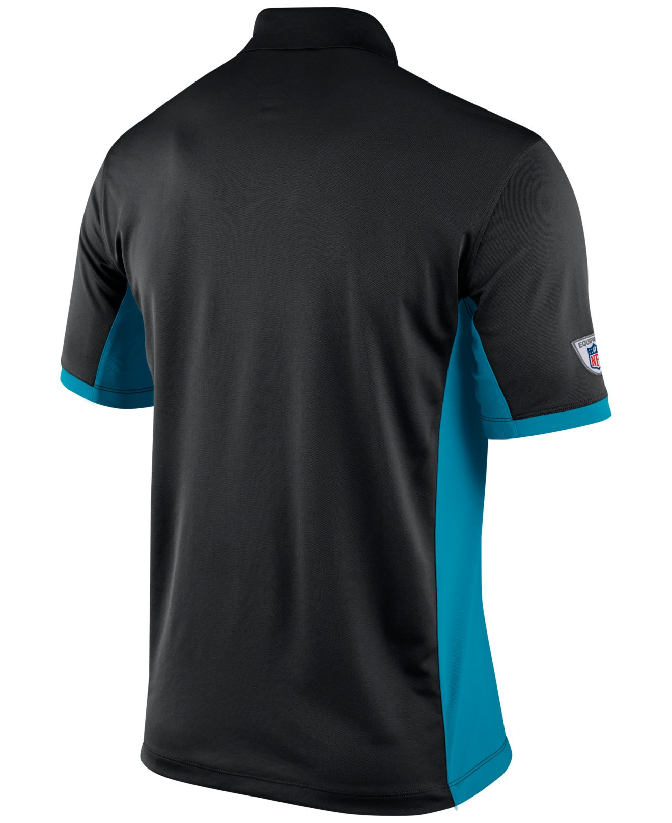 Nike Men 39 S Carolina Panthers Team Issue Polo In Black For