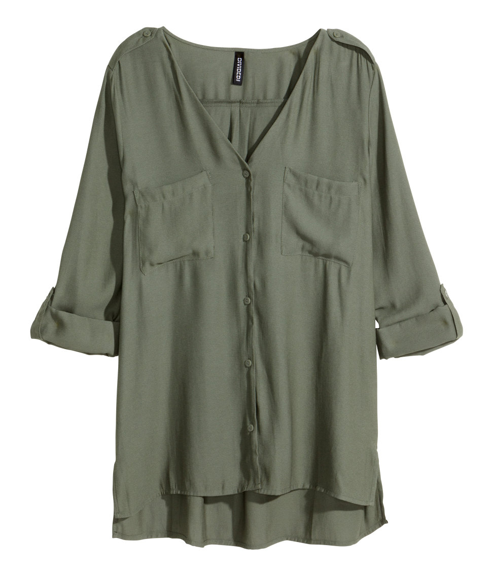 V Neck Blouse H&M 62