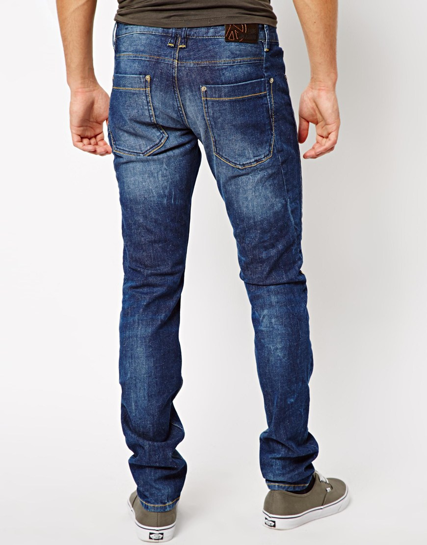 Love Moschino Jeans In Blue For Men Lyst