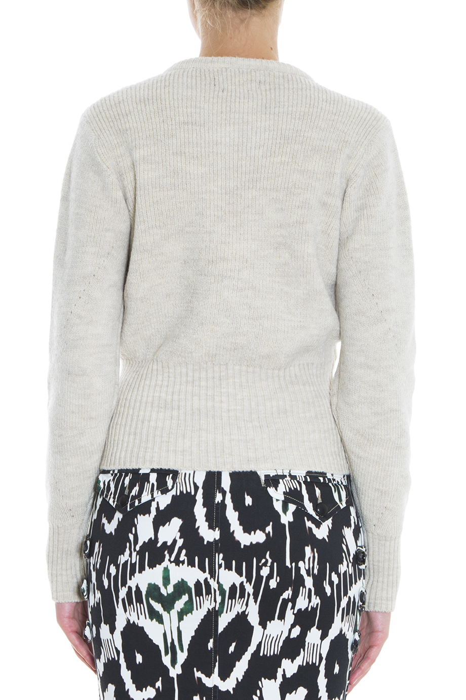 67640653aa Lyst - Isabel Marant Charley Sweater in White